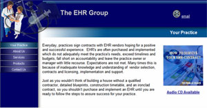 Original EHR Group web site