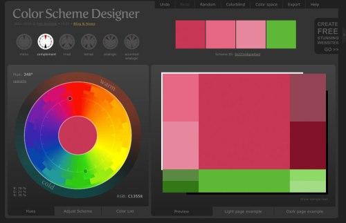 colorschemedesignercom - Color Scheme Designercom